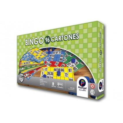 Juego Bingo 96 Cartones - Juego De Mesa