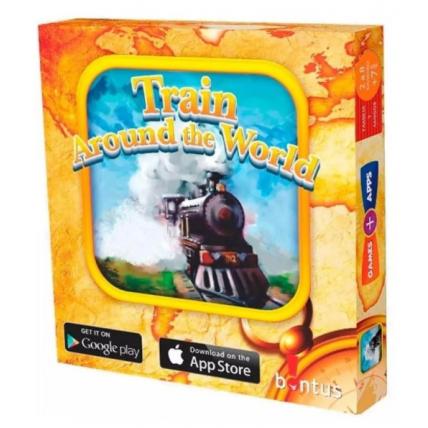 Juego De Cartas - Tren Por El Mundo - Bontus