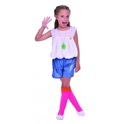 Disfraz Soy Luna Con Collar Luminoso - Talle 0