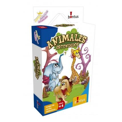 Juegos Didácticos Animales Escondidos - Bontus