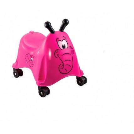 Andador Elefante Azul/rosa