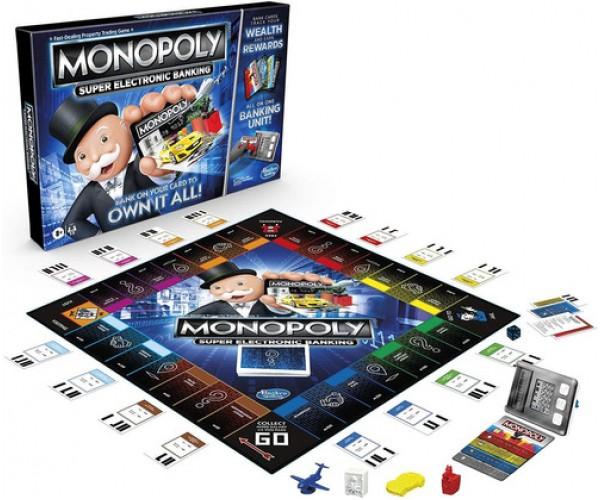 Monopoly Super Banco Electronico - Hasbro - Juego De Mesa