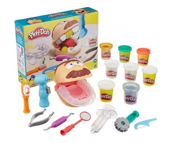 Play Doh. El Dentista - Hasbro -juego De Masa