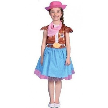 Disfraz Sheriff Callie Pollera - Talle 1