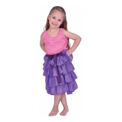 Disfraz Violetta Lila - Talle 2