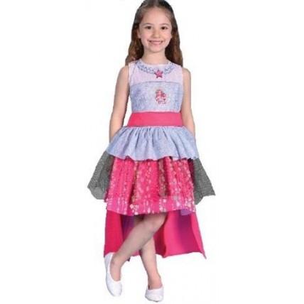 Disfraz Barbie Rock N Royals  T:1