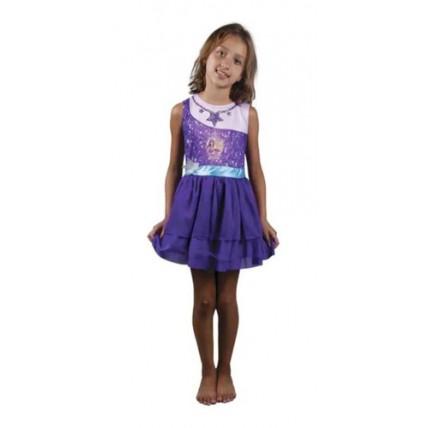 Disfraz Barbie Pop Star Violeta