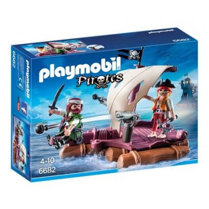 Balsa Con Piratas Playmobil
