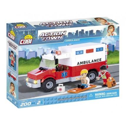 Ambulancia Nocturna - Cobi - Bloques Para Armar