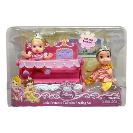 Muñecas Princesa Bebe Con Accesorios