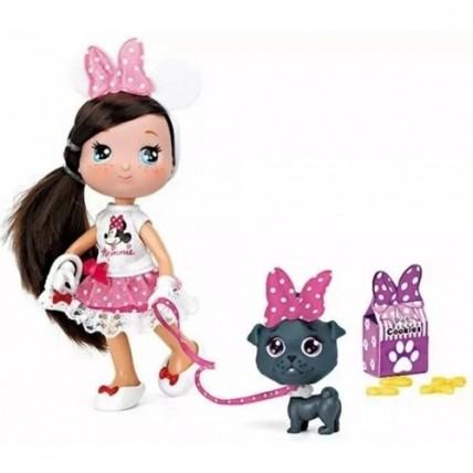 Muñeca I Love Minnie Con Mascota