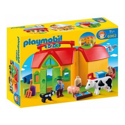 1.2.3 Granja Maletín - Playmobil