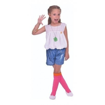Disfraz Soy Luna Con Collar Luminoso - Talle 1