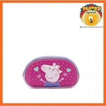 Peppa Pig - Cartuchera 2 Cierres