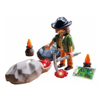 Buscador De Gemas - Playmobil