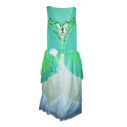 Disfraz Tiana La Princesa Y El Sapo - Talle 1