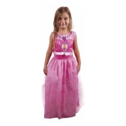 Disfraz Barbie Pop Star Rosa