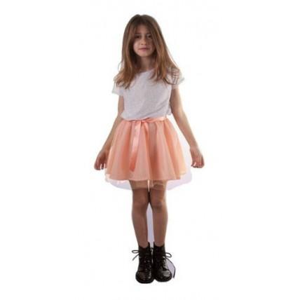 Disfraz Violetta Plateado - Talle 3