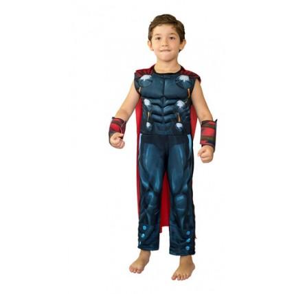 Disfraz  Premium Thor C/musculo