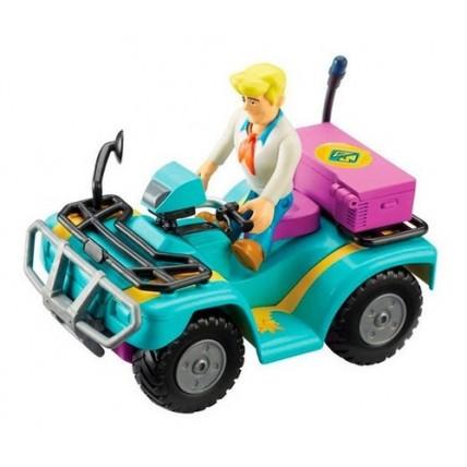 Conjunto De Vehiculos Con Figura-scooby Doo