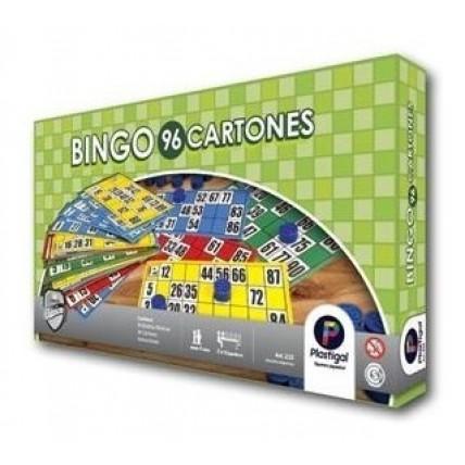 Juego Bingo 96 Cartones