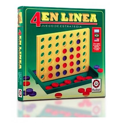 4 En Linea- Ruibal Juegos De Ingenio