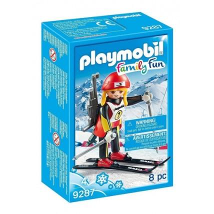 Atleta Esquiadora - Playmobil
