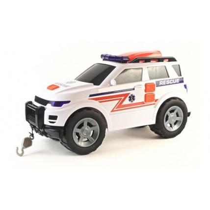 Ambulancia 4x4 Con Luz Y Sonido Teamsterz