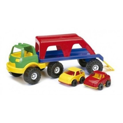 Camion Transporte Con 2 Autos  - Rondi