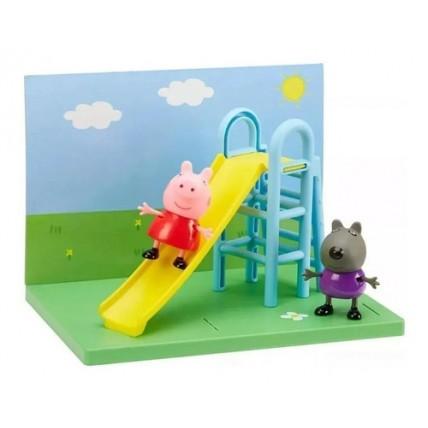 Peppa Pig Set De Juego En El Parque