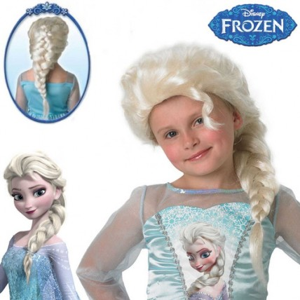 Frozen - Peluca Elsa
