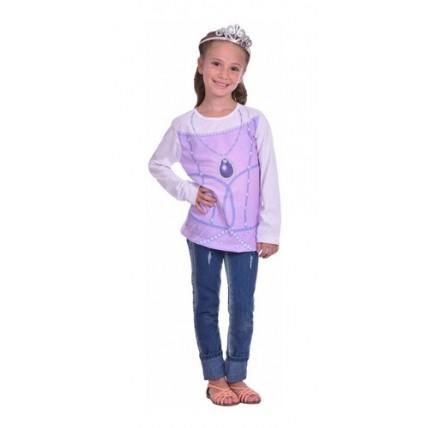Kit Remera + Accesorio  Princesa Sofia