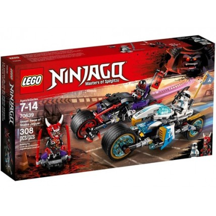 Lego - Carrera Callejera Del Jaguar-serpiente