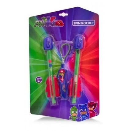 Pj Masks Spin Rocket - Juegos Y Juguetes