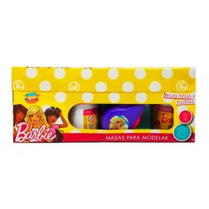 Juego De Masas Barbie 3 Chikimasas Pizzetas