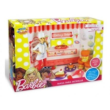 Juego De Masas Barbie Dulces Y Tortas