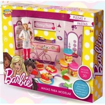 Juego De Masas Barbie Pizzas Y Pastas