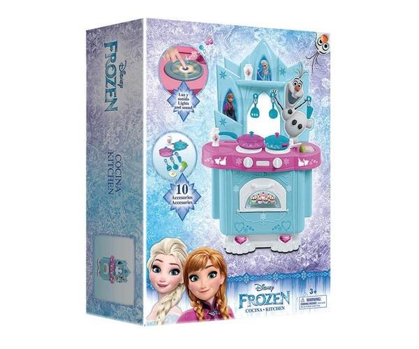 Frozen - Cocina Con Luces Y Sonidos 10 Accesorios