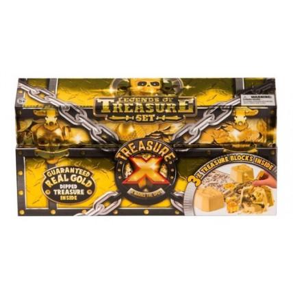 Juego Treasure X Pack Con 3 Unidades - Descubri El Tesoro