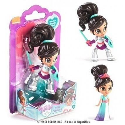 Muñeca Princesa Nella Y Nella Valiente 10cm