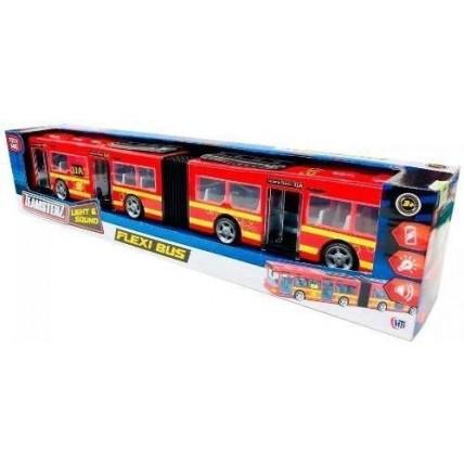Flexi Bus Con Luz Y Sonido Teamsterz