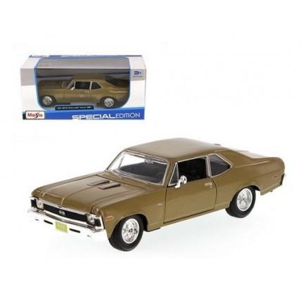 Auto Coleccion  Chevrolet Nova Ss - 1970 - 1:24