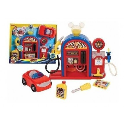 Gas Station Playset - Estacion De Gasolina (just Play).