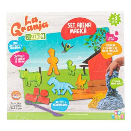 Arena Magica La Granja De Zenon Set En Caja Con Accesorios