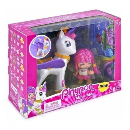 Muñeca Pinypon Unicornio Volador + Figura