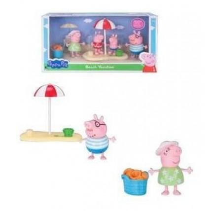 Peppa Pig Figuras Con Accesorios. Vienen 4 Figuras En Cada P