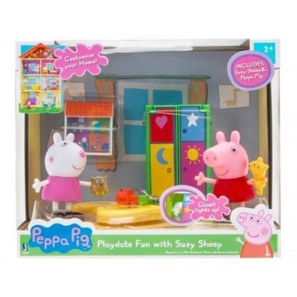Peppa Pig Playset Con 2 Figuras Y Accesorios