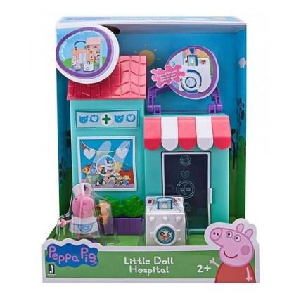 Peppa Pig - Playset Hospital De Mascotas O Estación Bombero