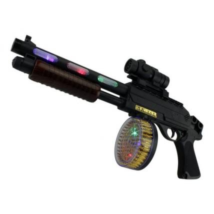 Arma De Combate Ak-868 . Con Mira Laser ,  Cargador Y Luces