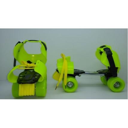 Roller Extensible Con Freno De 4 Ruedas De 56mm